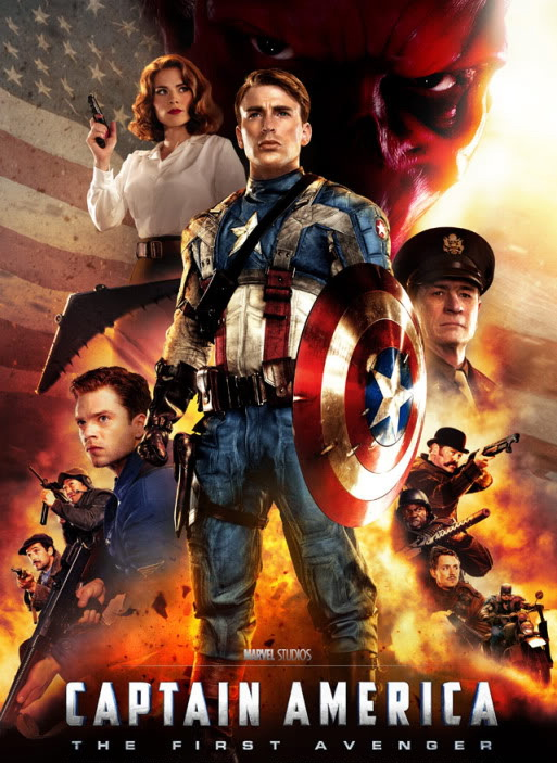 CaptainAmericaExclusivePoster